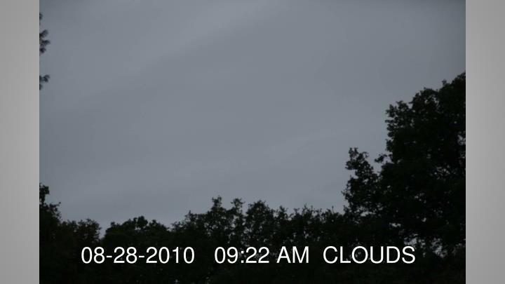 08-28-2010   09:22 AM  CLOUDS