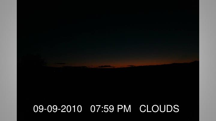09-09-2010   07:59 PM   CLOUDS