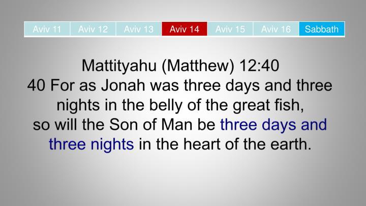 Mattityahu (Matthew)