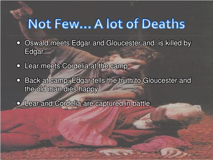 Not Few… A lot of Deaths