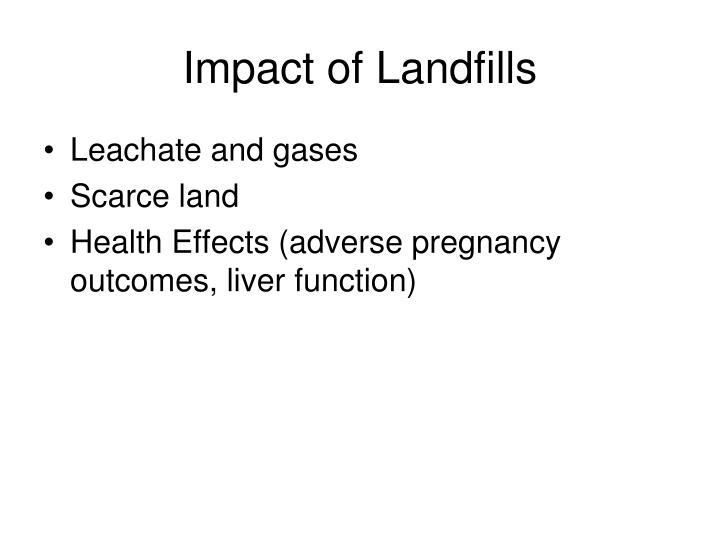 effect on improper solid waste disposal on health 18 consequences of improper disposal or to public health or to the environment improper disposal may be of waste drugs or during.