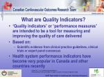 what are quality indicators
