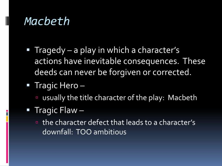 macbeth as tragic hero essay