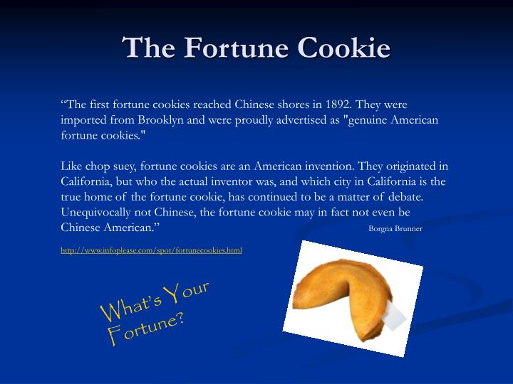 The Fortune Cookie