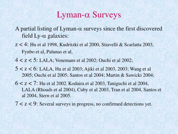 Lyman-