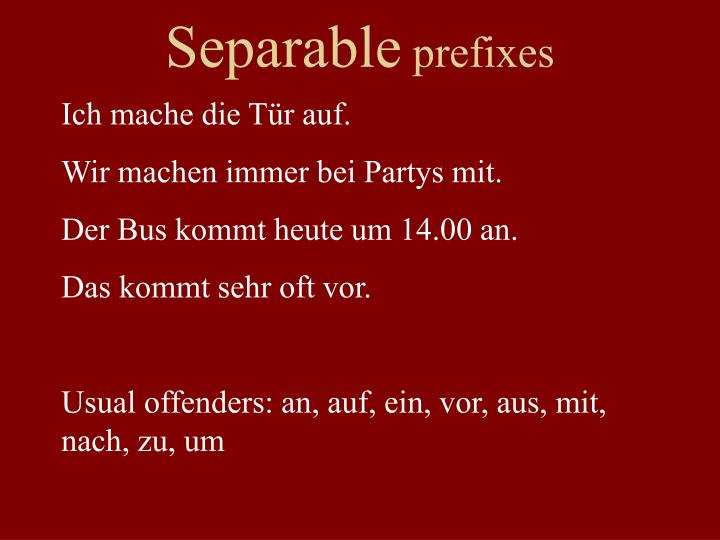 Separable
