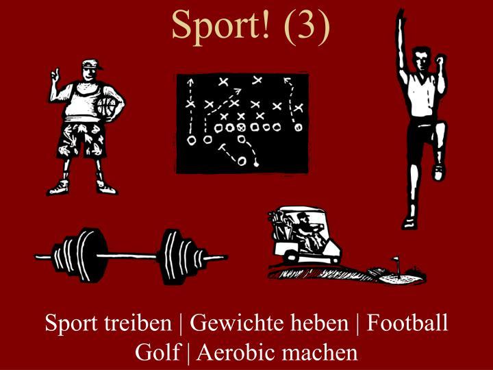 Sport! (3)