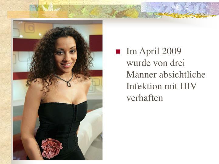 Im April 2009 wurde von drei M