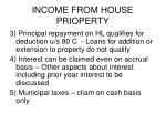 income from house prioperty1