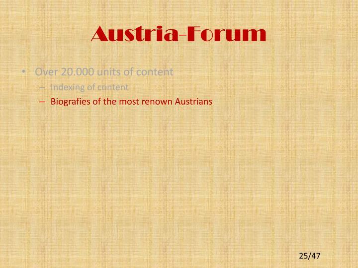 Austria-Forum