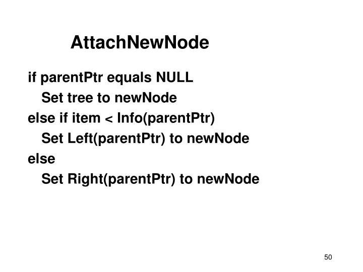 AttachNewNode