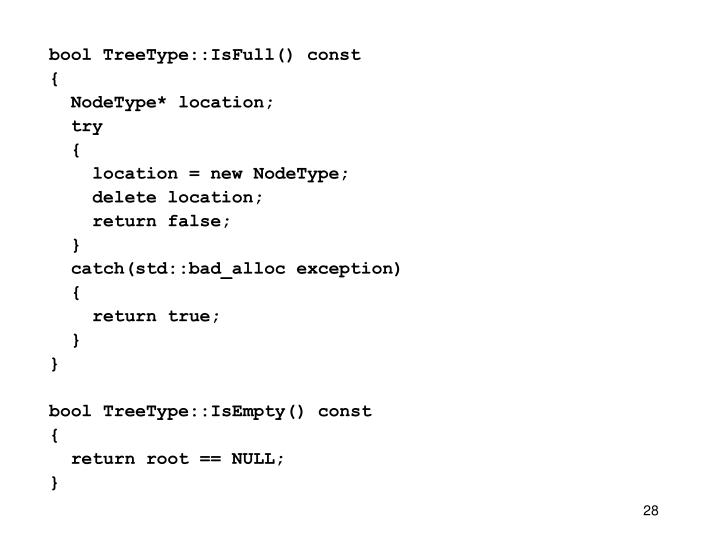 bool TreeType::IsFull() const