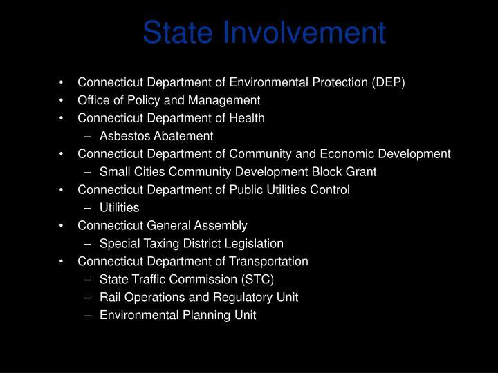 State Involvement
