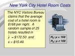 new york city hotel room costs