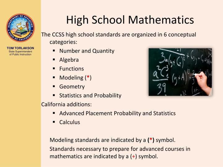 High School Mathematics