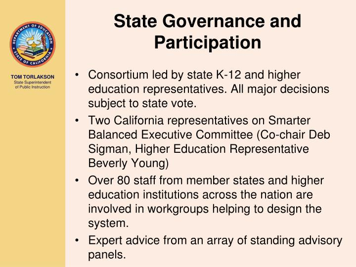 State Governance and Participation