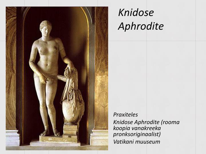 Knidose Aphrodite