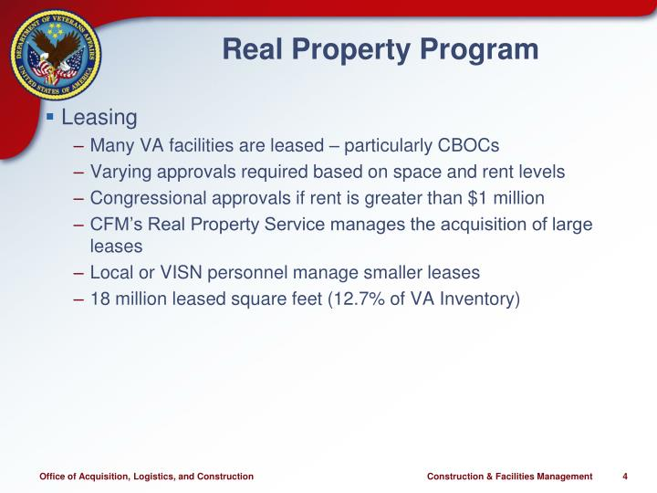 Real Property Program