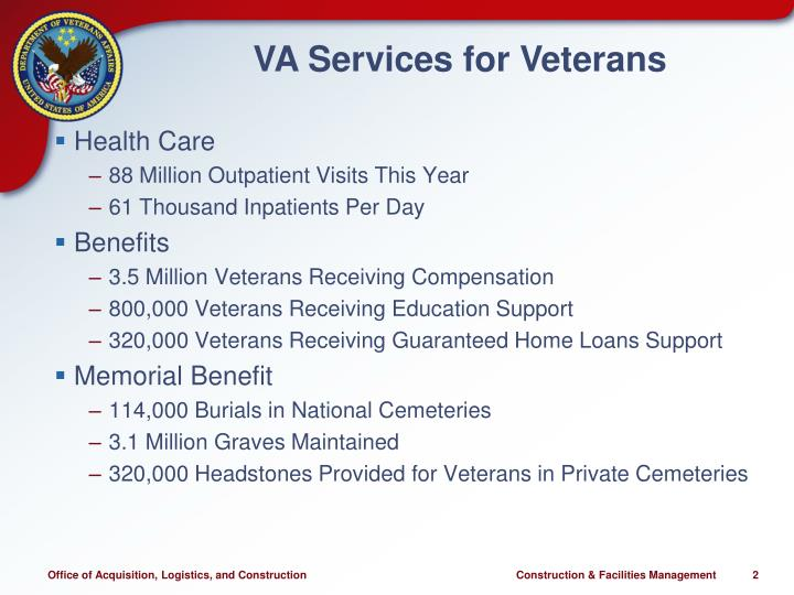 VA Services for Veterans