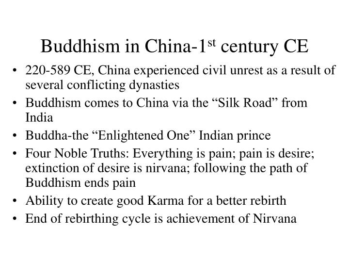 Buddhism in China-1