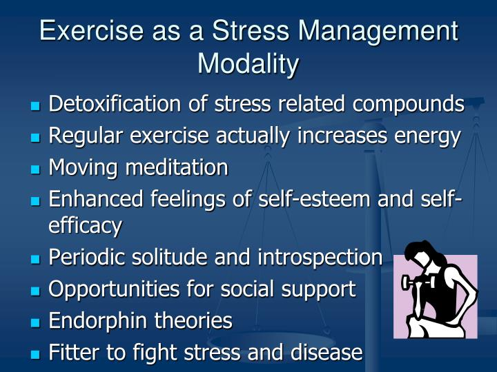 Exercise as a Stress Management Modality