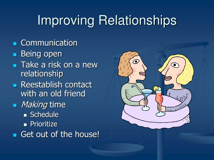 Improving Relationships