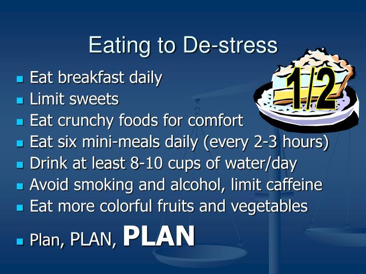 Eating to De-stress