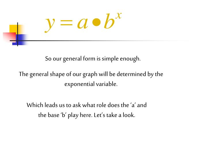 So our general form is simple enough.
