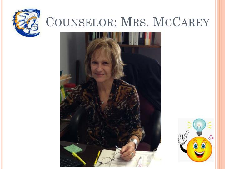 Counselor: Mrs.