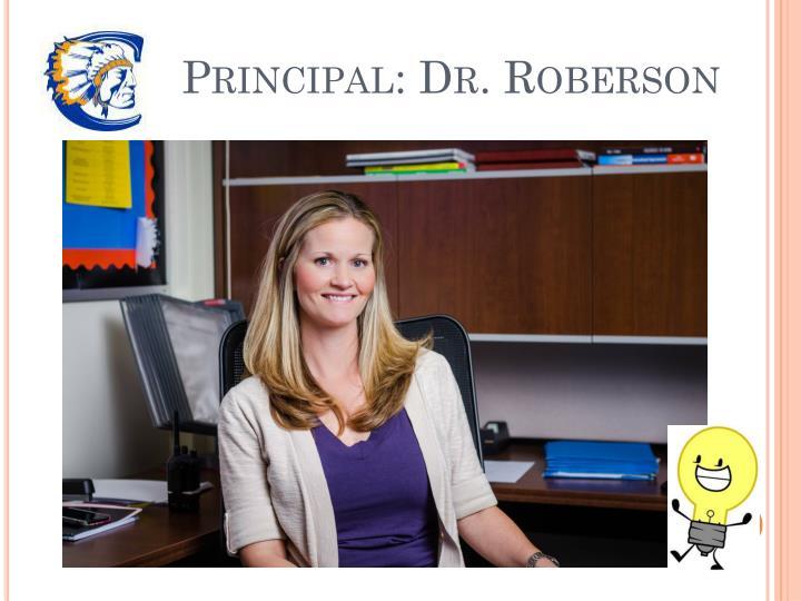 Principal: Dr. Roberson