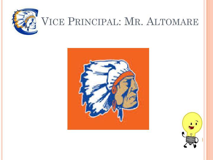 Vice Principal: Mr.