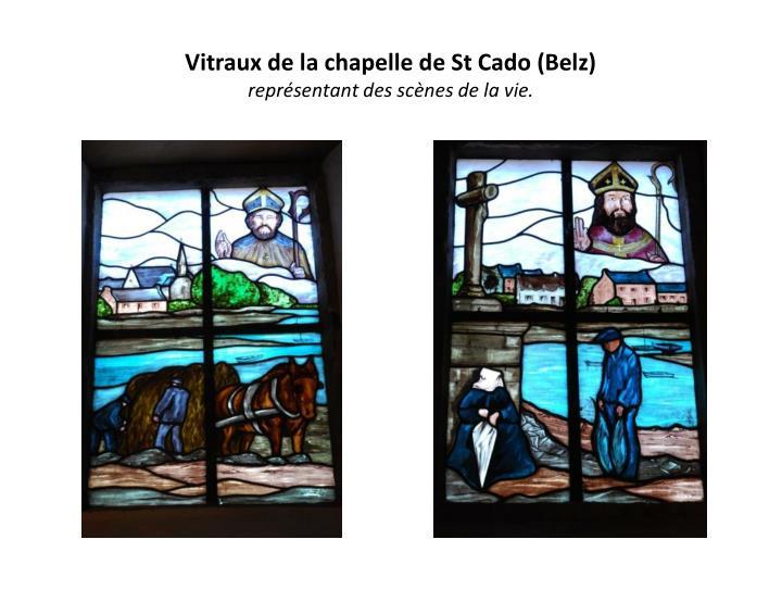Vitraux de la chapelle de St Cado (Belz)