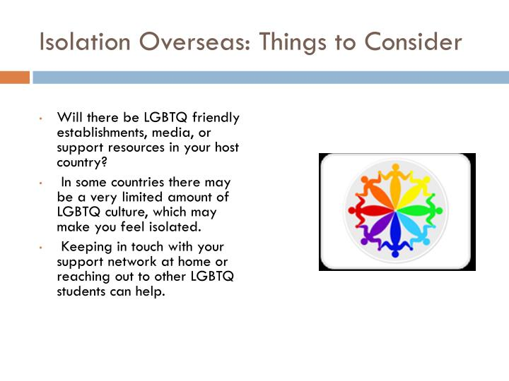 Isolation Overseas: Things to Consider