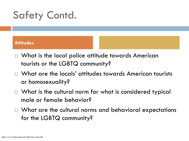 Safety Contd.