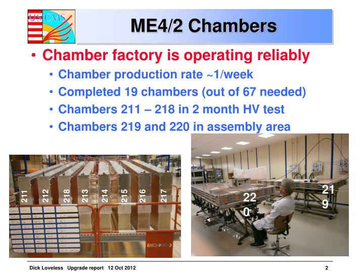 ME4/2 Chambers