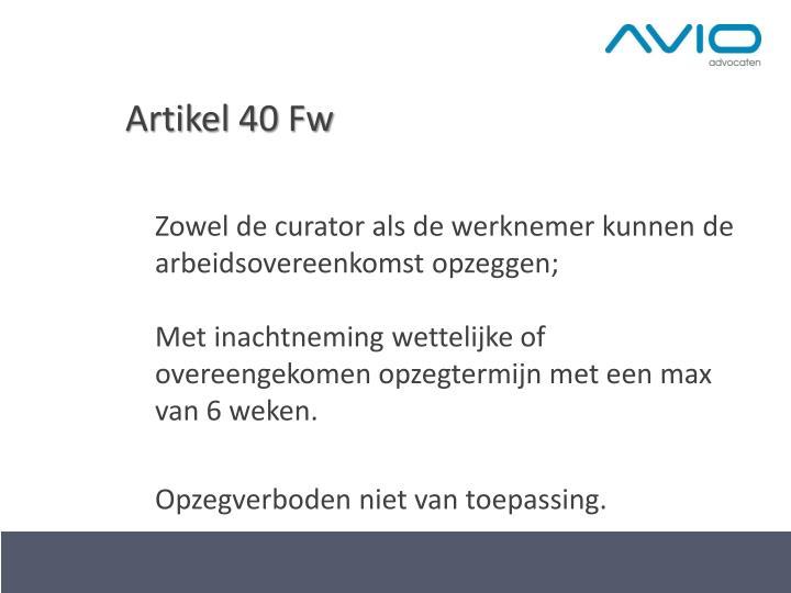 Artikel 40
