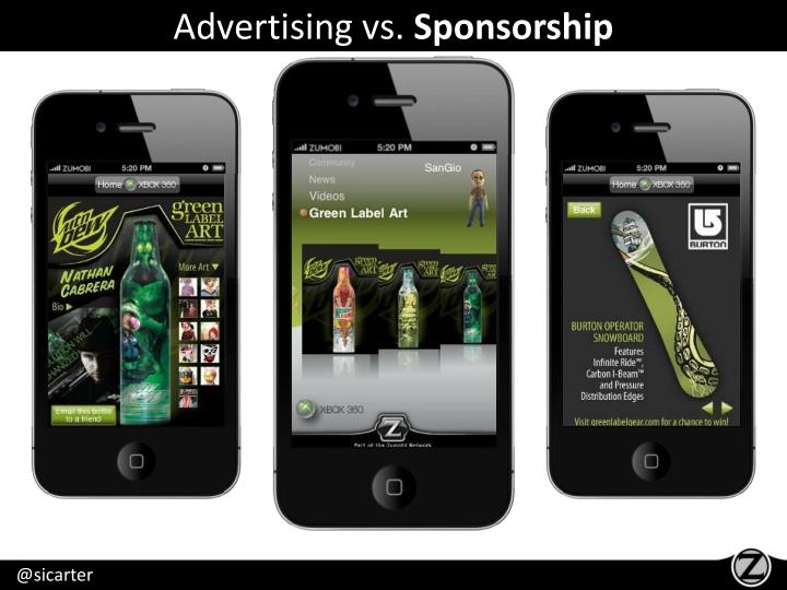 Advertising vs.