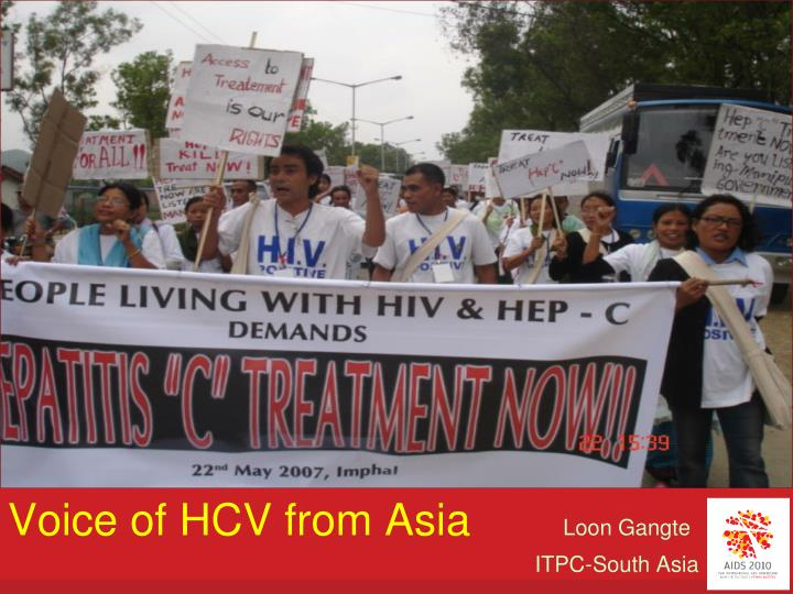 Voice of HCV from Asia
