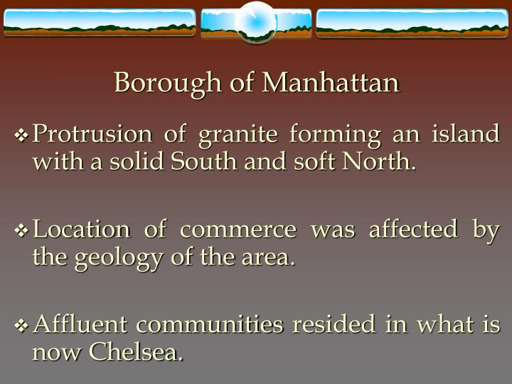 Borough of Manhattan