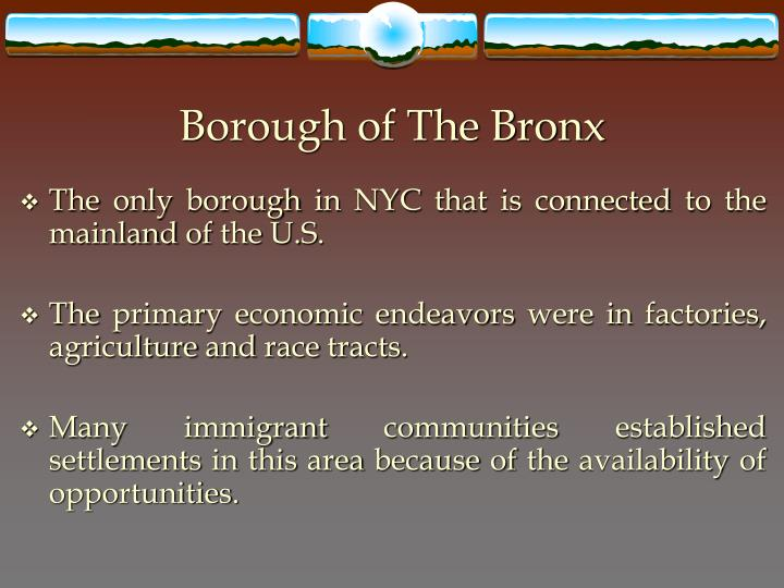 Borough of The Bronx