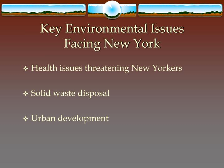 Key Environmental Issues