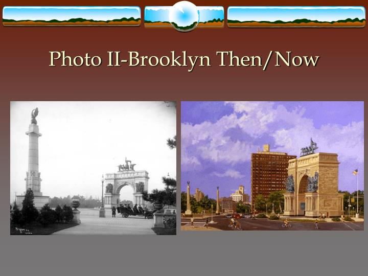 Photo II-Brooklyn Then/Now
