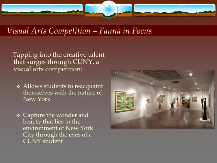 Visual Arts Competition – Fauna in Focus