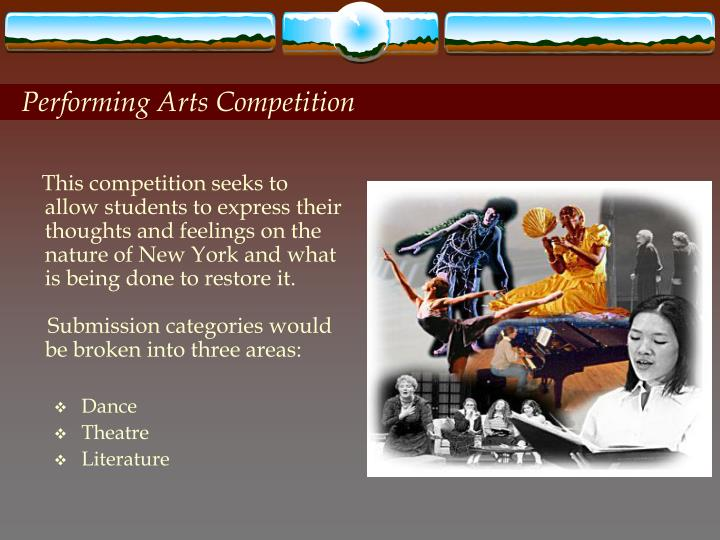 Performing Arts Competition