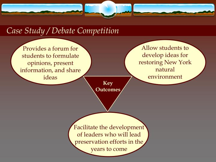 Case Study / Debate Competition