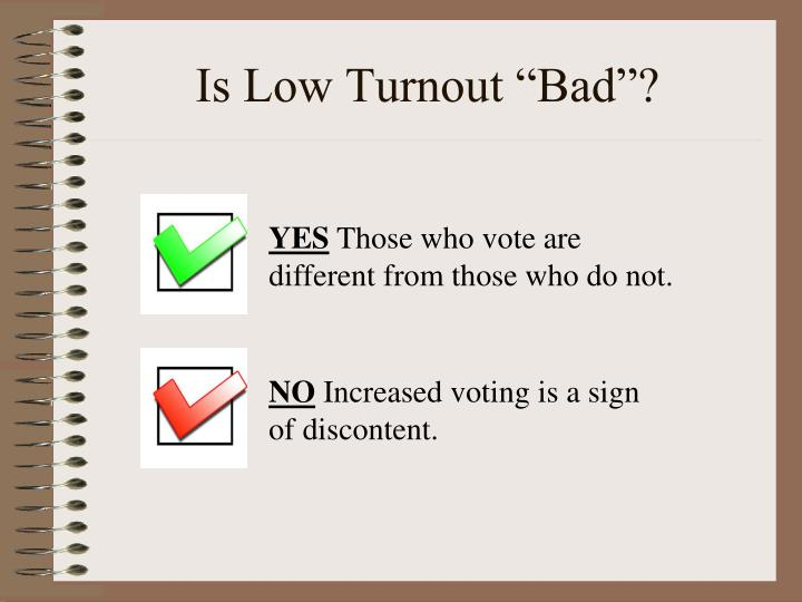 "Is Low Turnout ""Bad""?"