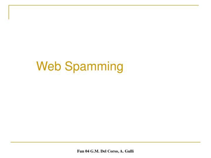 Web Spamming