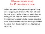 why you should study for 30 minutes at a time11