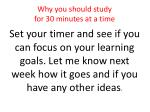 why you should study for 30 minutes at a time23