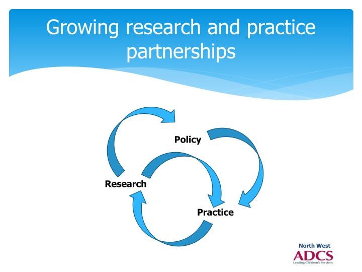 Growing research and practice partnerships